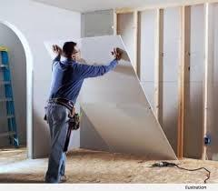 gypsum partition work in Dubai