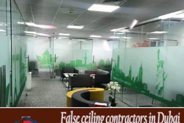 false ceiling contractor in Dubai