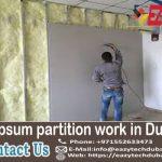Gypsum Wall Partition in Dubai